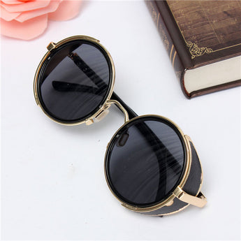 Steampunk Sunglasses Vintage Round Circle