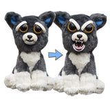 Feisty Funny Change Face Pets Plush Toy