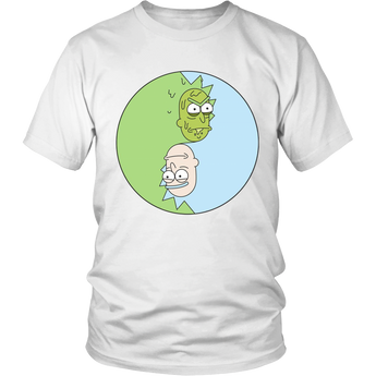 Rick and Morty Shirt Hoodie Unisex