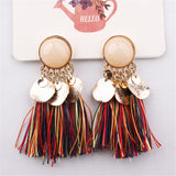Tassel Earrings Bohemian Drop Vintage