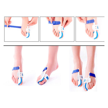 Day Night Bunion Splint Big Toes Corrector Hallux Valgus Straightener Foot