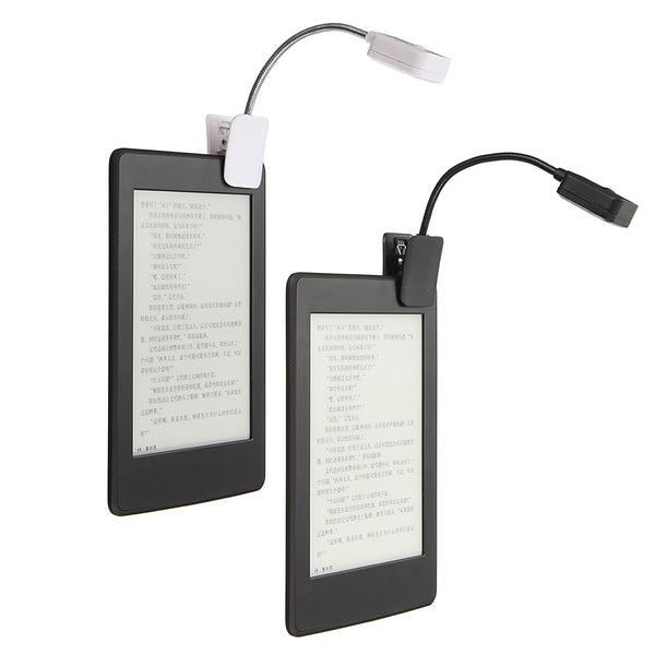 For Kindle For Notebook Reading Light LED Book Light Table Lamp Desk Lamp Mini Flexible Clip On Book