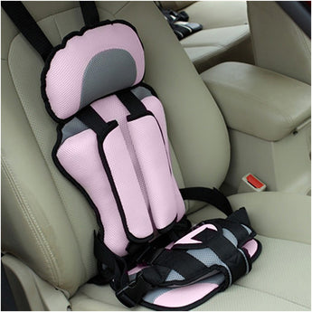 Child secure seatbelt vest portable safety seat