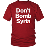 Don't Bomb Syria Shirt