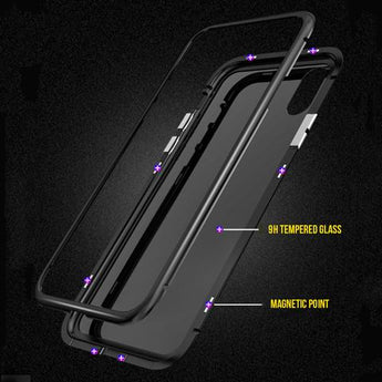 Magnetic Adsorption iPhone Phone Case