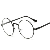 Circle Clear Lens Glasses