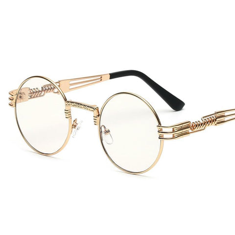 Circle Glasses Steampunk