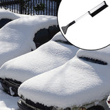 Portable Extendable Telescoping Snow Brush Shovel Ice Scraper