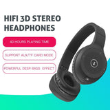 Wireless Bluetooth headphones with Microphone Noise Cancelling