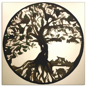 Tree Of Life Canvas Paint Picture