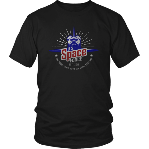 Space Force Shirt 2018
