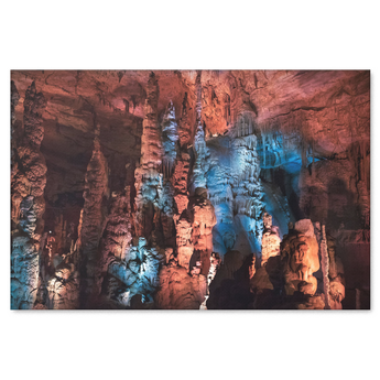 ALABAMA: The Cathedral Caverns Landscape Canvas Painting