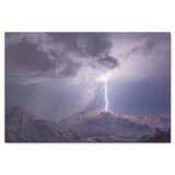 Main Strike Grand Canyon Landscape Canvas