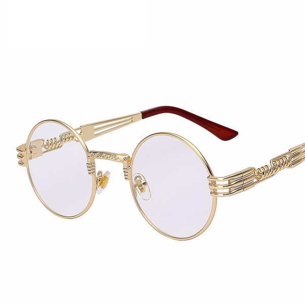 Steampunk Glasses Sunglasses Circle