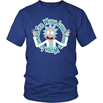 Rick and Morty Wubba Lubba Dub Dub Shirt Hoodie