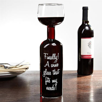 The Wine Glass Bottle