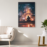Chinatown Landscape Canvas