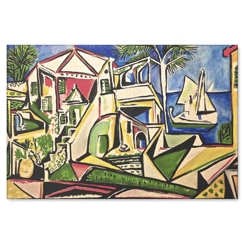 Picasso Wall Art Print Mediterranean Landscape Canvas – It\'s My Style