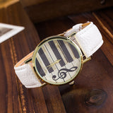 Piano Keys Vintage Watch