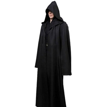 Halloween Star Wars Jedi Cloak Cos Play Adult Hooded Robe Cloak Cape Halloween Costume
