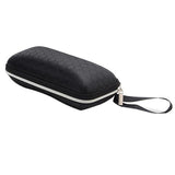 Cover sunglasses case box with lanyard zipper