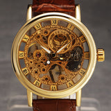Gotham Steampunk Skeleton Watch