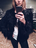 Fur Coat Jacket With Cashmere Lining