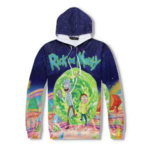 Rick and Morty Cosmos Sweatshirt Hoodies