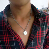 Drum Stainless Steel Necklace