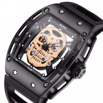 Skull Skeleton Watch Steampunk Quartz