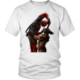 Deadpool vs. Wolverine Unisex Shirt