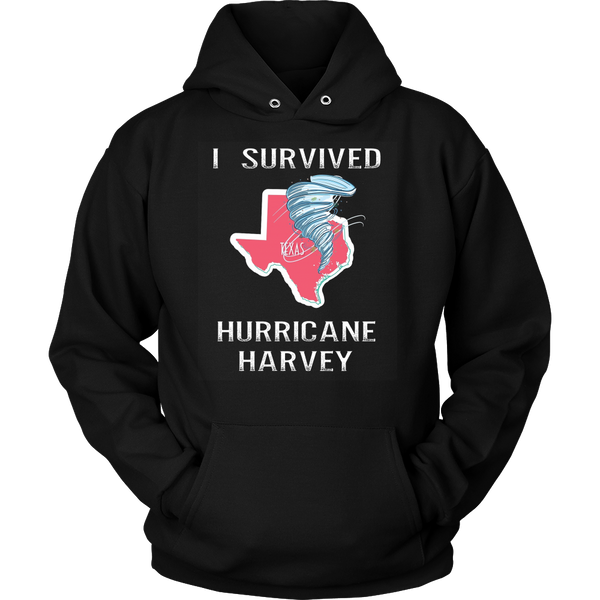 I Survived Hurricane Harvey Unisex Shirt Hoodies