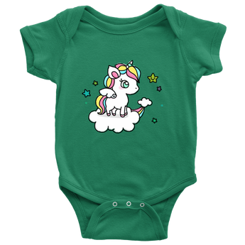Unicorn Baby Onesie Bodysuit Toddler Shirt