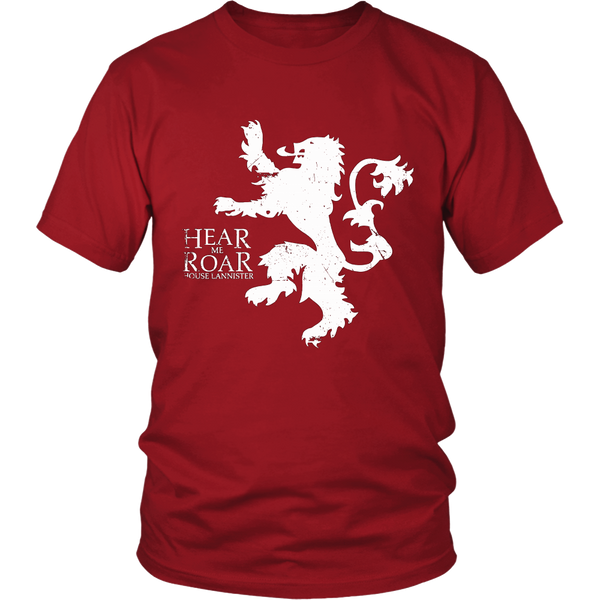 Game of Thrones Shirt House Lannister Unisex