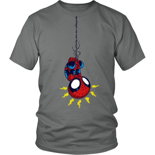 Little Spiderman Unisex Shirt