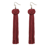 Tassel Earrings Boho Long Dangles