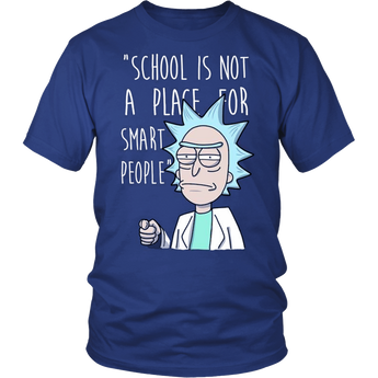 Rick and Morty School Unisex Shirt Hoodie