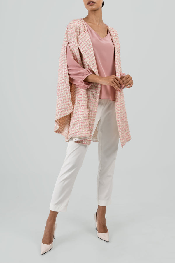 The Isabella - Pink & Cream