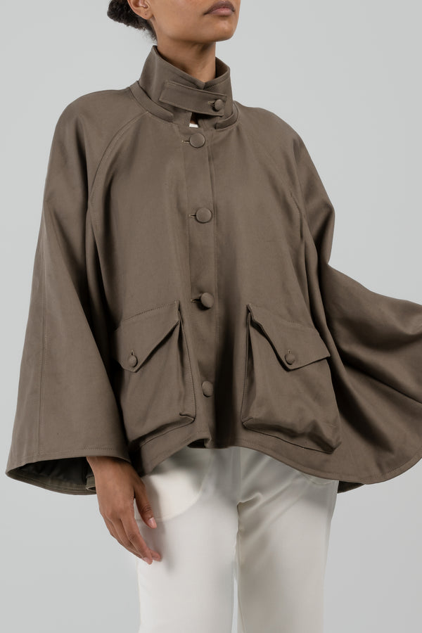 The Audrey Cotton Cape