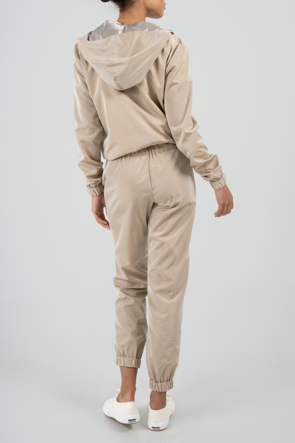 The Taupe Deco Jumpsuit & Travel Set