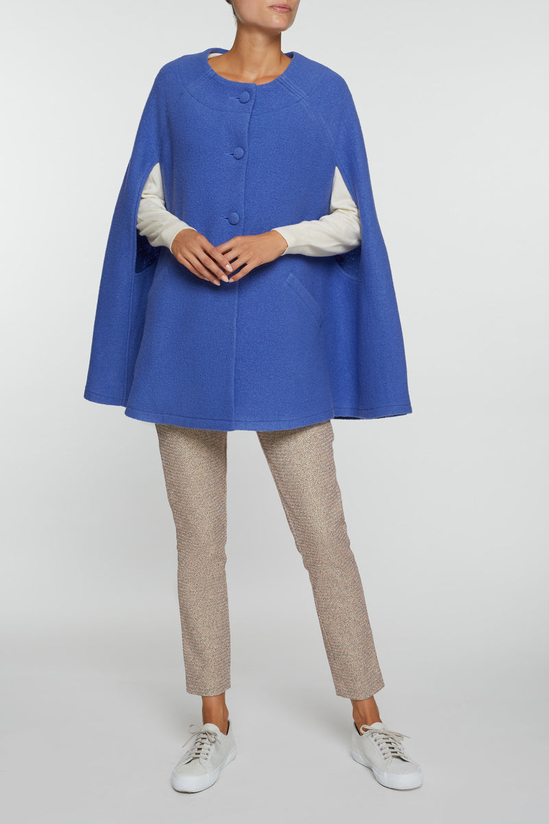 Giulia Blue Cape