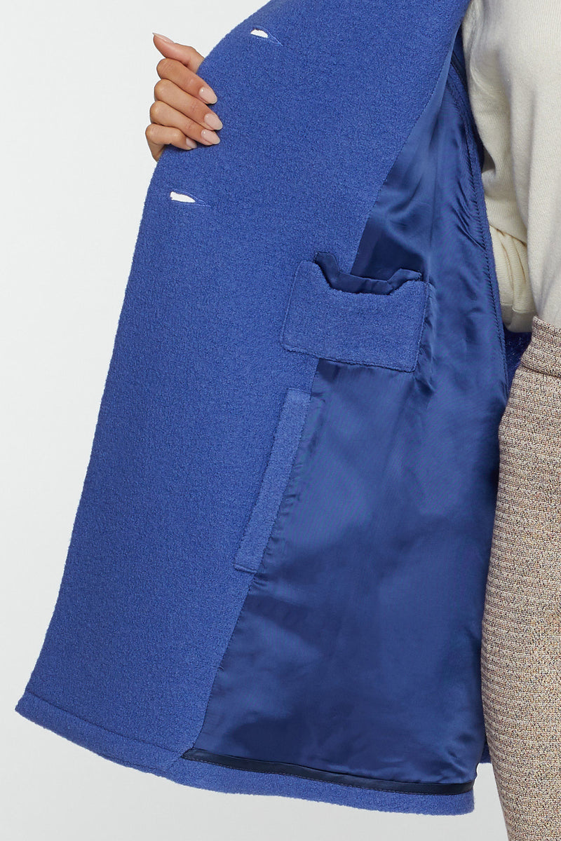 The Giulia Blue Cape