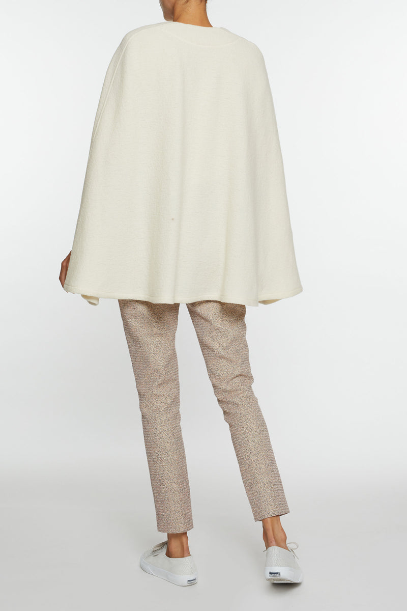 Giulia Cream Cape