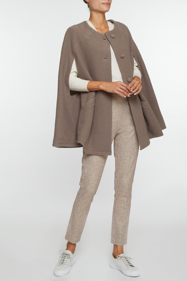 Giulia Brown Cape