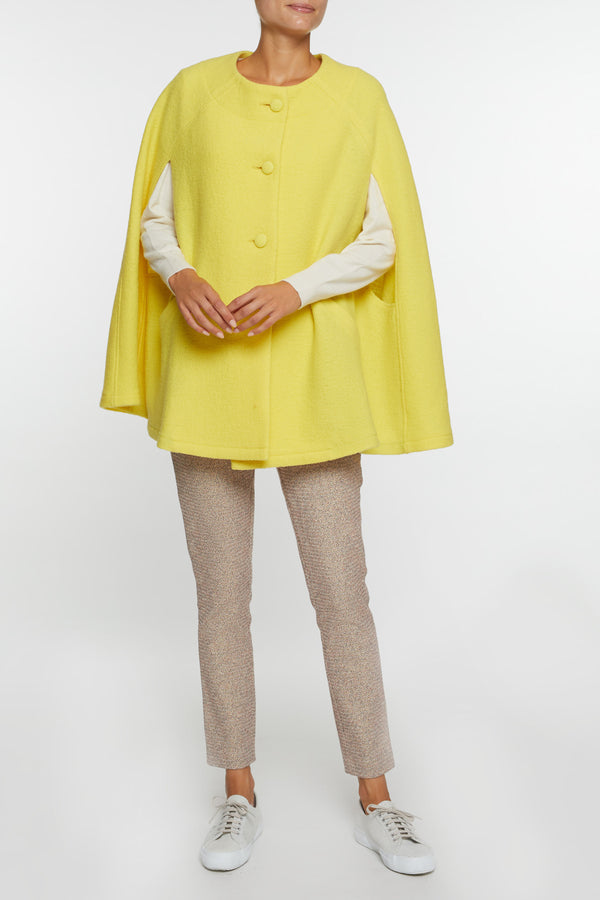 Giulia Yellow Cape