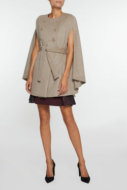 The Charlotte Cashmere Cape