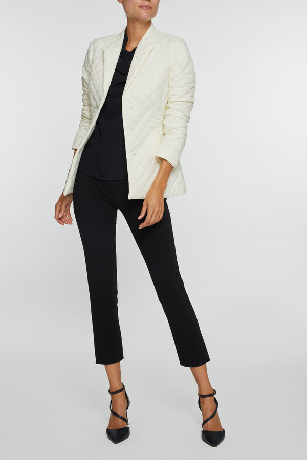 The Allyson Blazer - Winter White