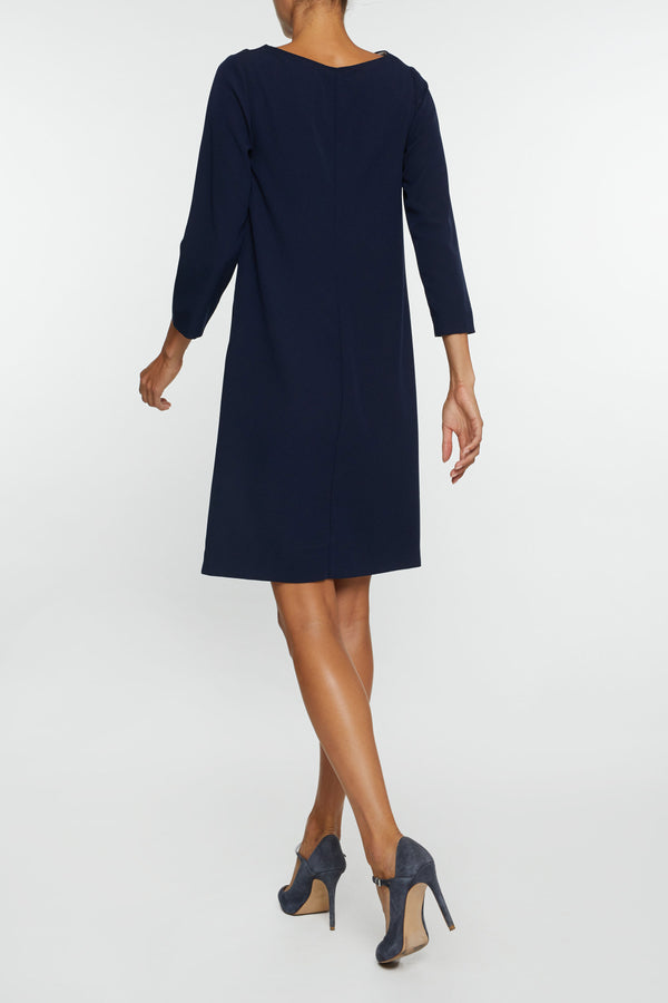 The Fiona Dress - Blue