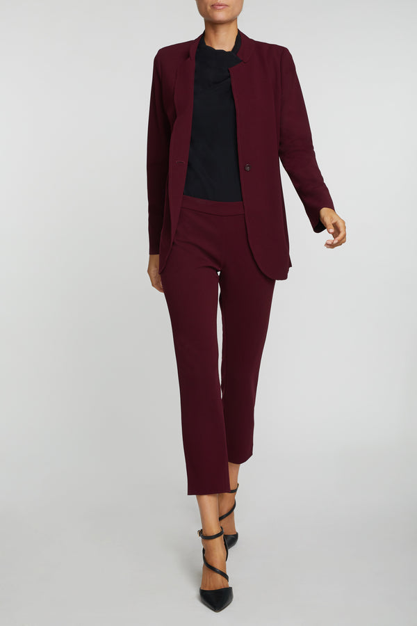 The Laura Blazer - Red Merlot