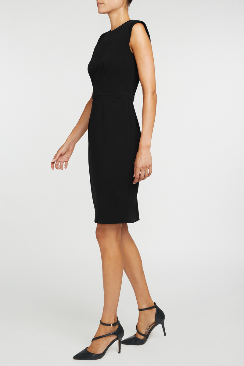 The Alicia Mondrian Dress - Black